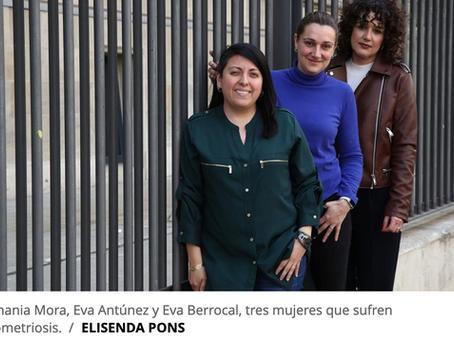 """""""Por la endometriosis me hinché tanto que llevaba ropa premamá"""" - el Periódico"""