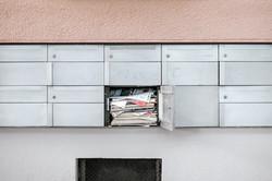 Briefkasten in Zug