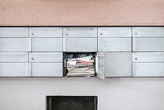Postlådor