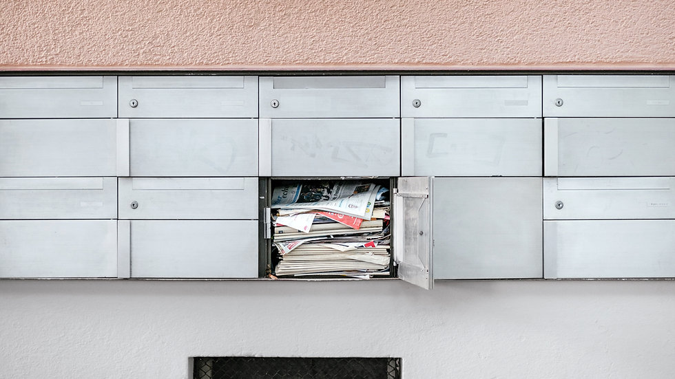 Application for Delivery of Mail with USPS