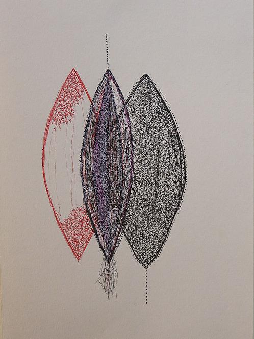 Seed Drawing 2 by Sarita Chouhan