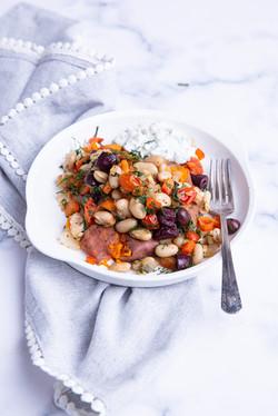 Greek Smashed Sweet Potatoes-4