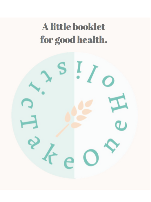 A little booklet for good health (Ebook)