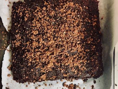 Vegan nutella chocolate cake!