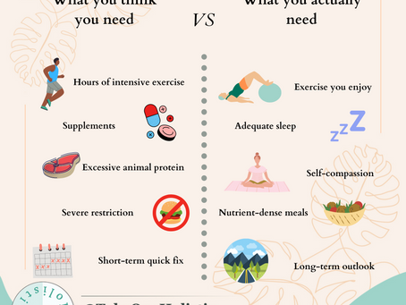 What you think you need vs what you really need