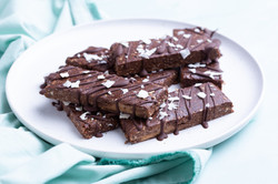 Chocolate Almond Protein Bars-2