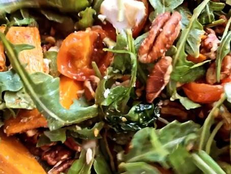 Pumpkin and Rocket Super Salad