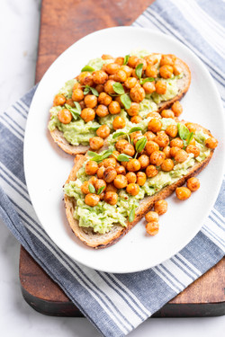 Chickpea Avocado Toast_