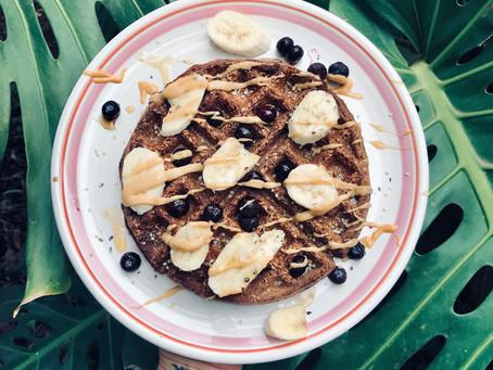 Wholesome & Healthy Vegan Waffles