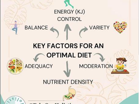 Key Factors For An Optimal Diet!