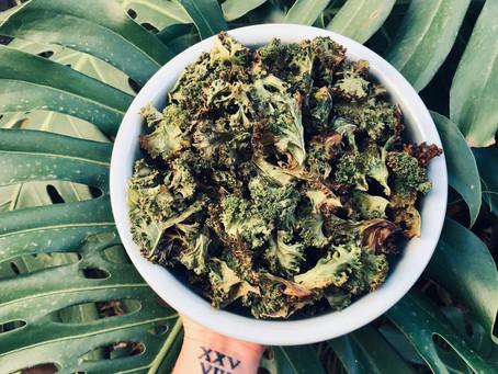 Easy Kale Chips