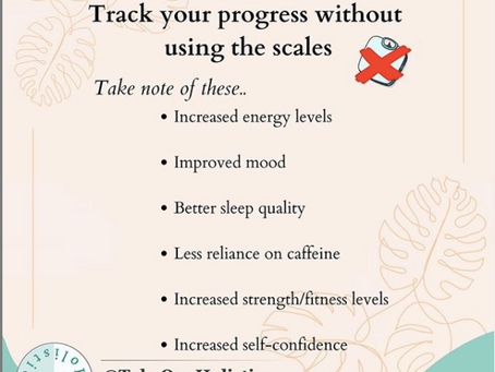 How to track your progress without relying on the scales