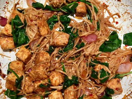 Quick & easy sautéed tempeh