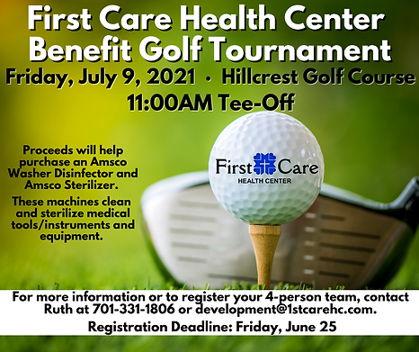 First Care Health Center Benefit Golf To