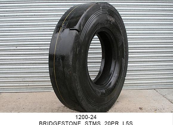 1200-24 BRIDGESTONE STMS 20PR & 16PR