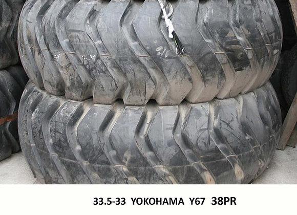 33.5-33 YOKOHAMA Y67 38PR