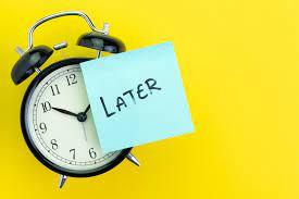 Tips to Avoid Procrastination