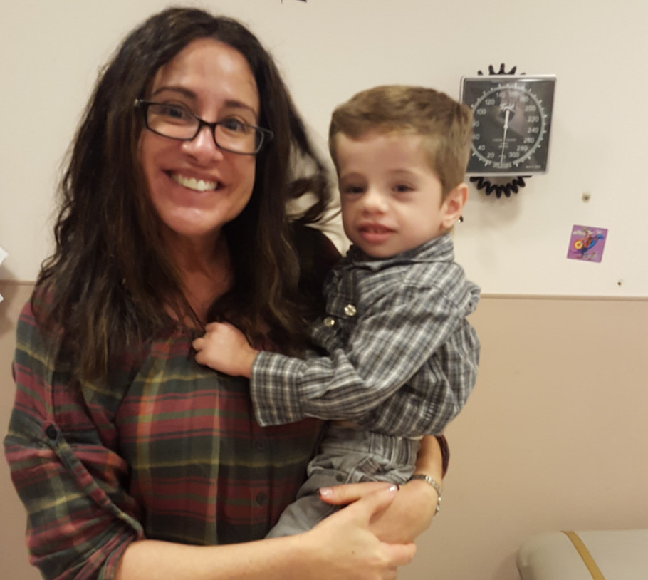 Dr. Cheryl Tierney and Leo