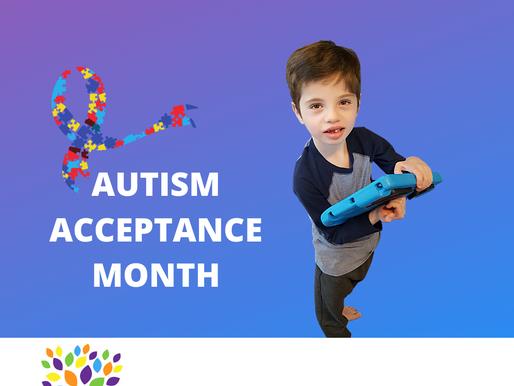 #autismacceptancemonth