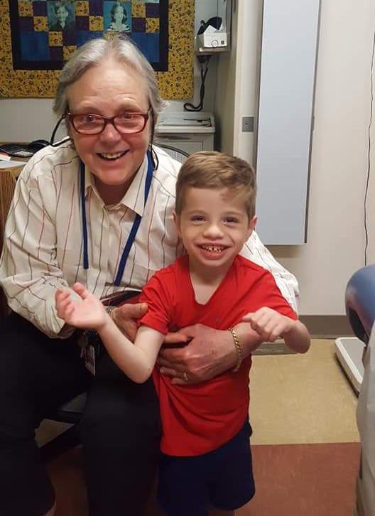Dr. Harbison and Leo