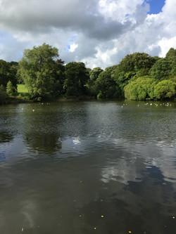 Lake - 5 mins walk from Chimneys