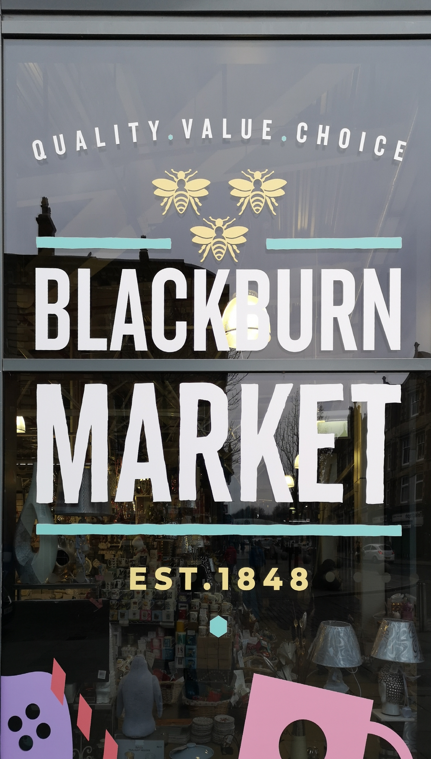 Historic Blackburn market -1848