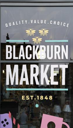Historic Blackburn market -1848