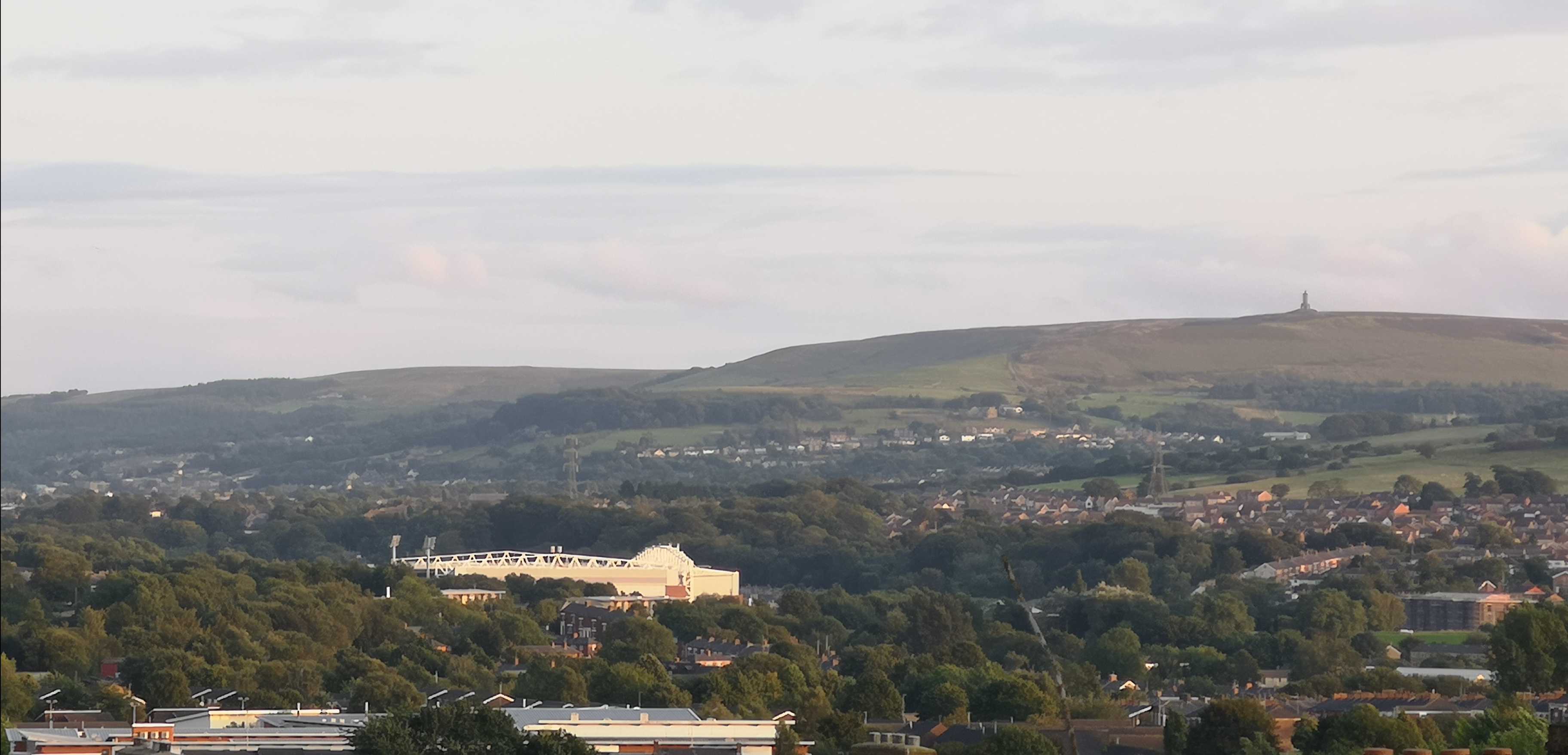 View of Blackburn from Chimneys