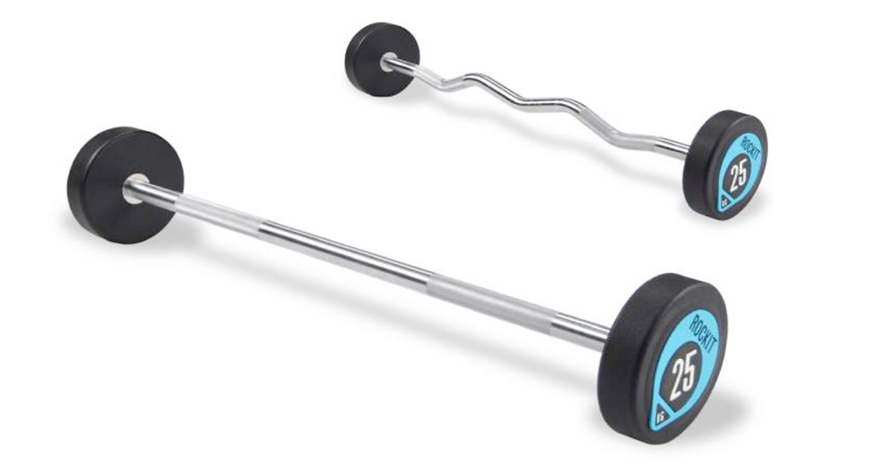 Urethane Barbell Straight / Curl