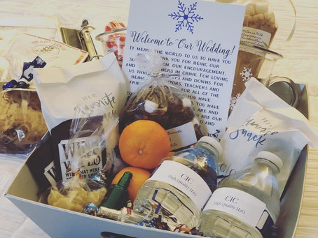 How to Create the Perfect Wedding Welcome Gift