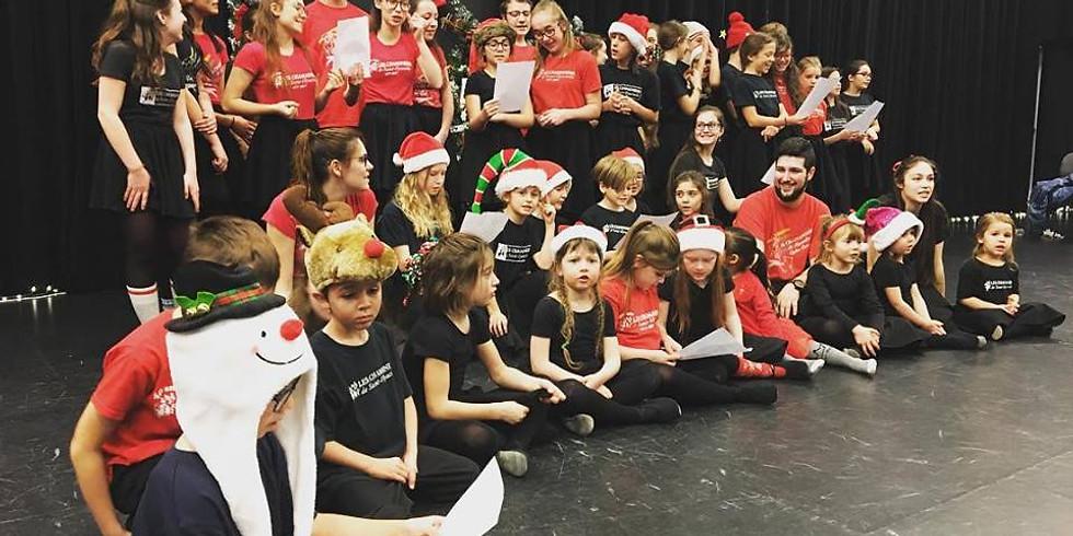 Spectacle de Noël au Centre culturel Humania Assurances