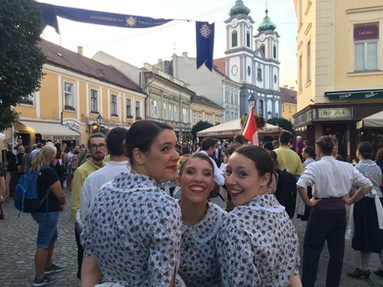 De précieuses amitiées! Hongrie 2019