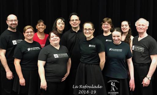 La Refoulade, 2018-2019