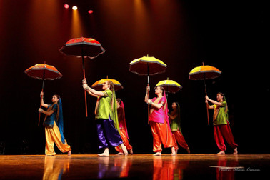 Troupe de spectacle, Bollywood (Inde)