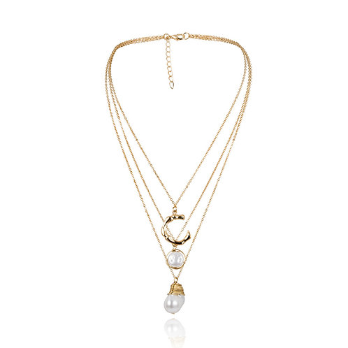 CHAMY PEARL NECKLACE