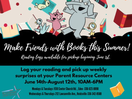 Make Friends with Books this Summer