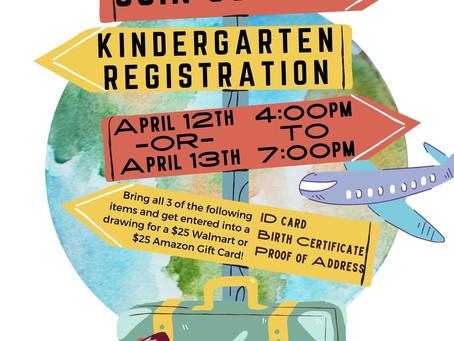 2021-2022 Kindergarten Registration/Presentation
