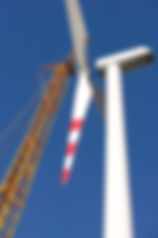 Construction of wind turbine with heavy