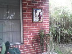 602 lizard address sign