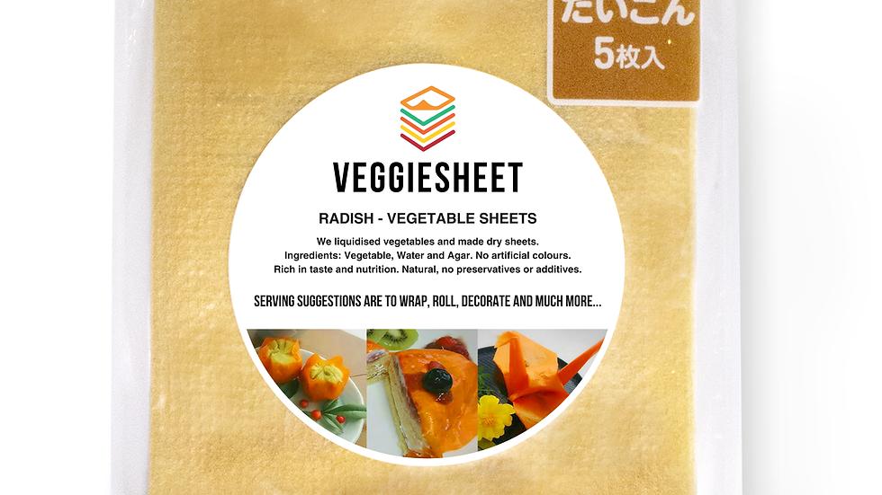 Veggie Sheet Radish