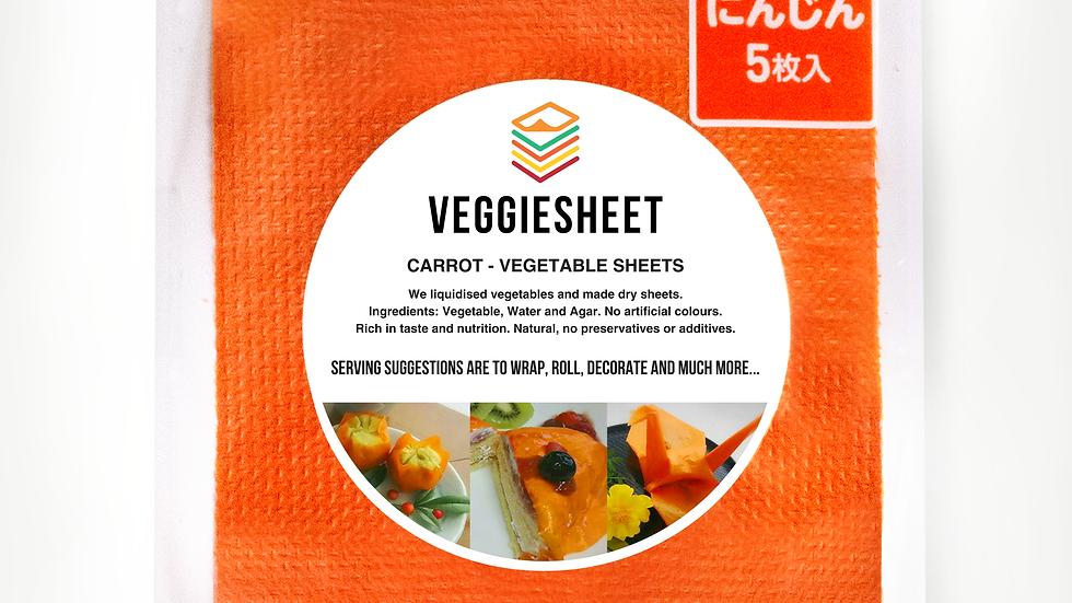 Veggie Sheet Carrot
