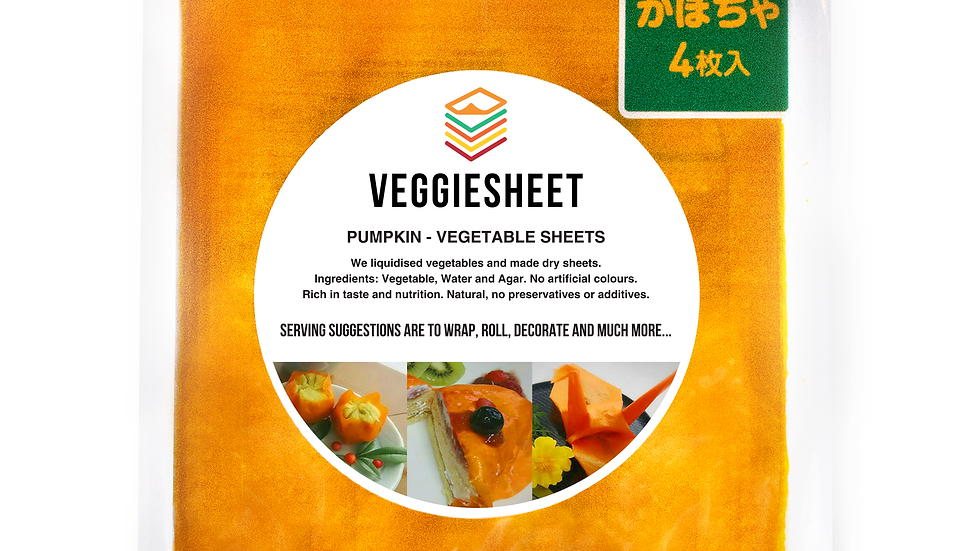 Veggie Sheet Pumpkin