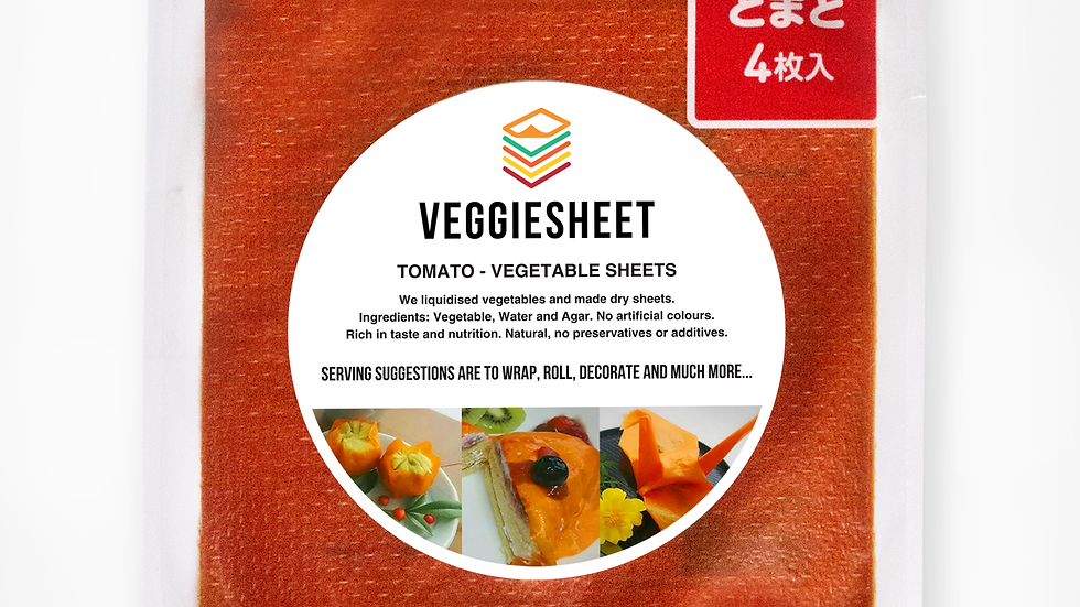 Veggie Sheets – 5 Pack, All Flavours. Multi-pack Discount