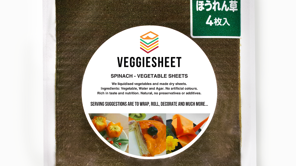 Veggie Sheet Spinach