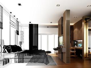 Menor taxa de juros aquece mercado imobiliário e reforça demanda por design de interiores