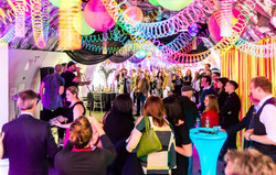 Cotswold airport UV Neon theme party