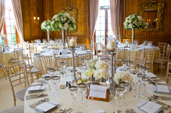 hedsor house ivory and green wedding