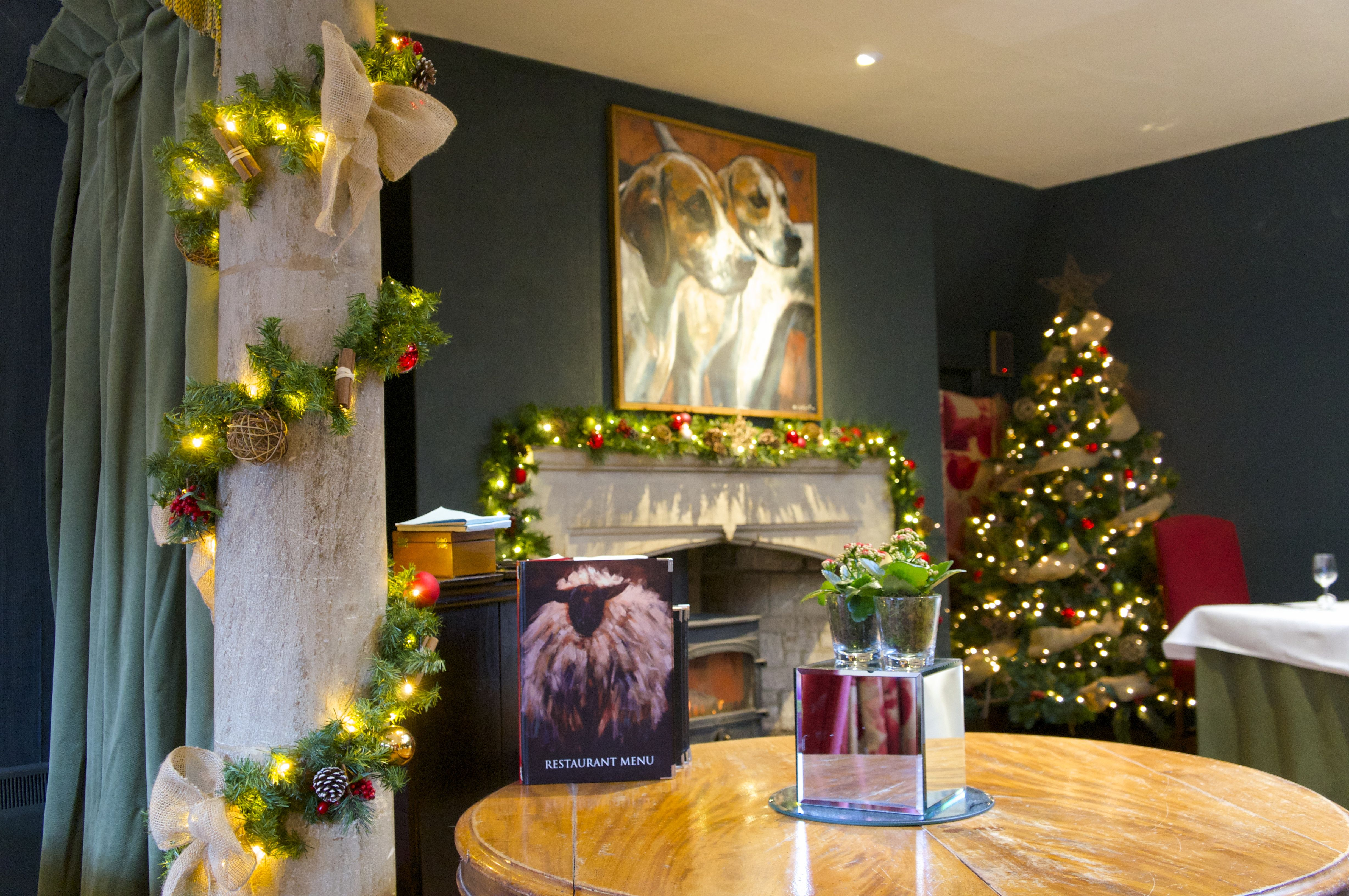 Christmas styling hotel gr