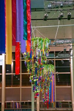 MK shopping centre hanging decor