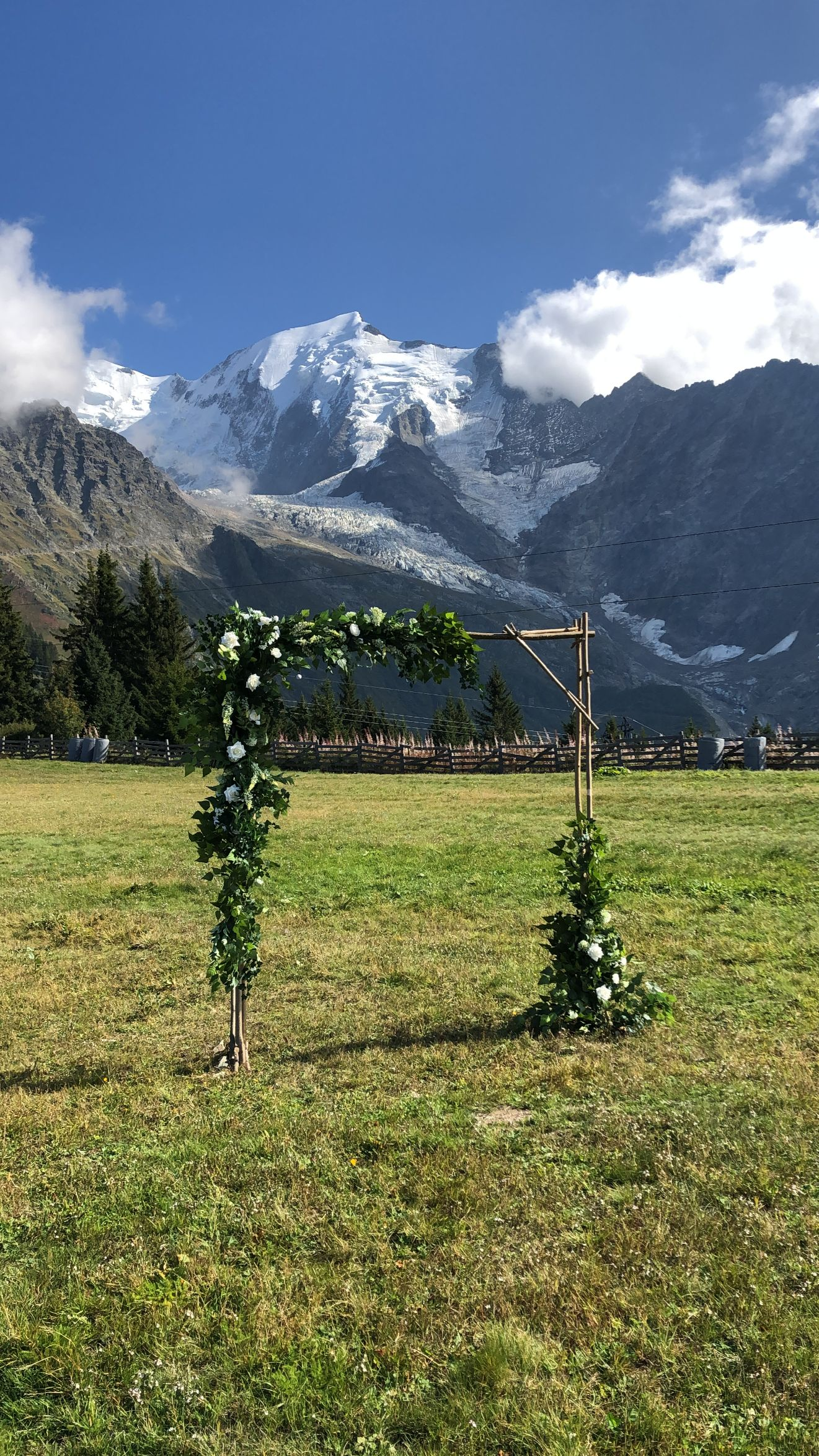 wedding in the alps chamonix